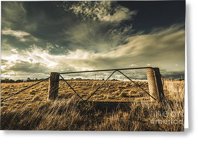 At The Gates Greeting Card by Jorgo Photography - Wall Art Gallery