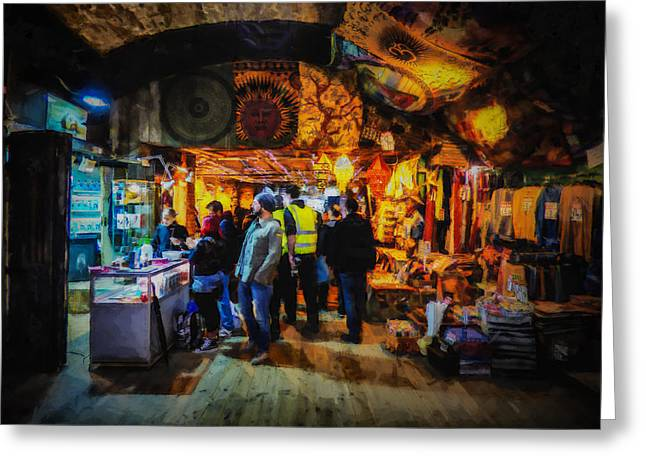 At The Grand Bazaar Greeting Card by Steve Taylor