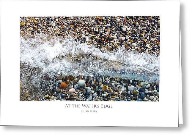 At The Waters Edge Greeting Card