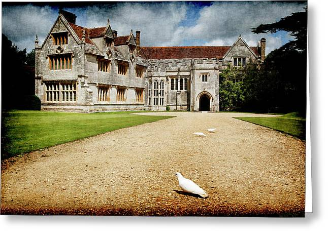 Athelhamptom Manor House Greeting Card