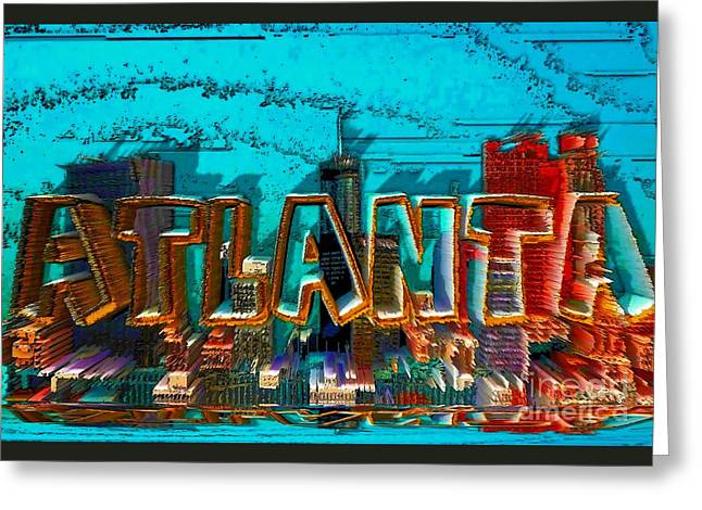 Atlanta 2016 By Nico Bielow Greeting Card by Nico Bielow