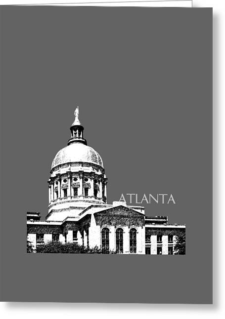 Atlanta Capital Greeting Card by DB Artist