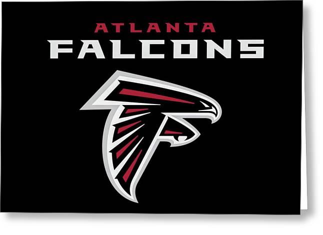 Atlanta Falcons 6 Greeting Card