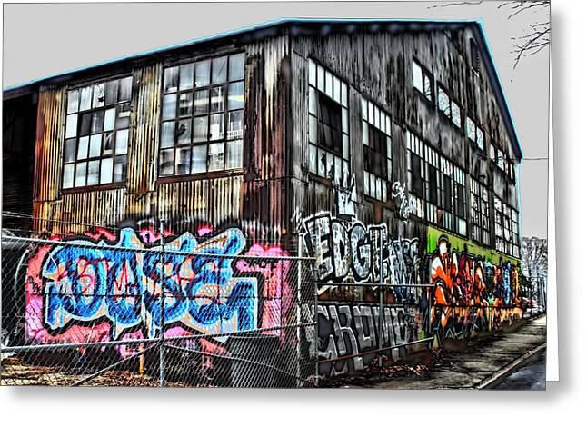 Photographers Duluth Greeting Cards - Atlanta Graffiti Greeting Card by Corky Willis Atlanta Photography
