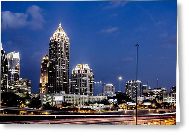 Atlanta Midtown Greeting Card