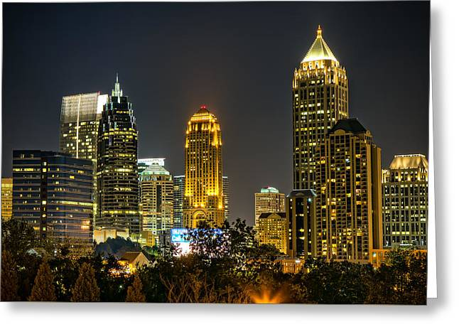 Atlanta Skyscrapers  Greeting Card