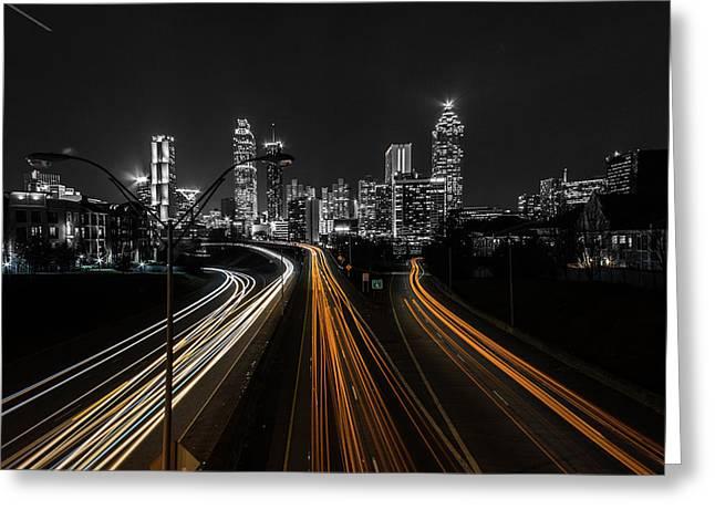 Atlanta Tones Greeting Card