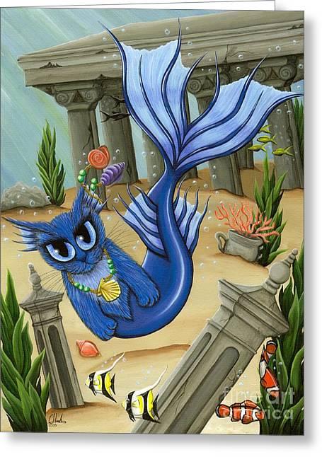 Atlantean Mercat Greeting Card
