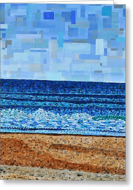 Atlantic Beach In July Greeting Card by Micah Mullen