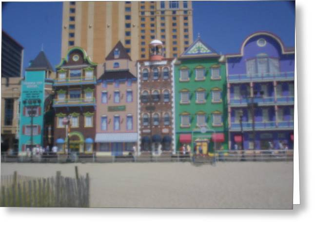 Atlantic City Greeting Card