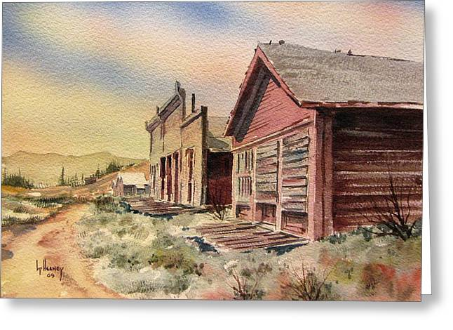Atlantic City Ghost Town Wyoming Greeting Card by Kevin Heaney