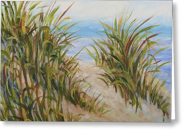 Atlantic Dunes Greeting Card