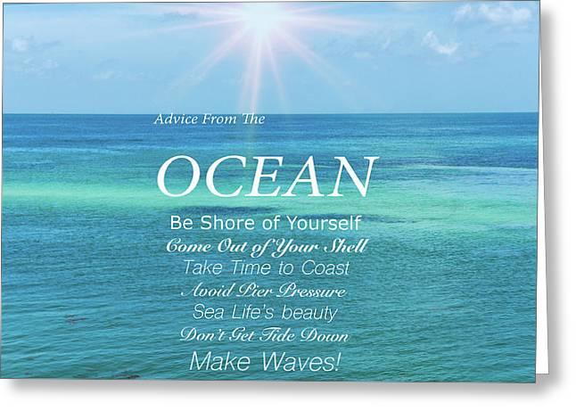 Atlantic Ocean Greeting Card by Art Spectrum
