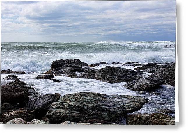 Greeting Card featuring the photograph Atlantic Scenery by Andrew Pacheco