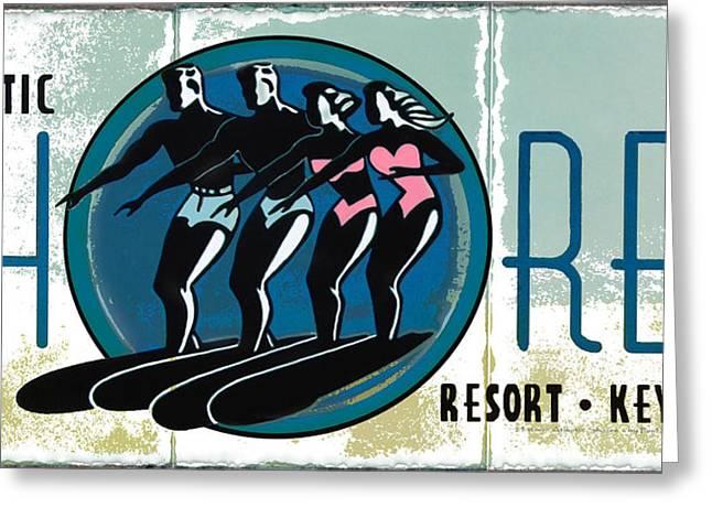 Atlantic Shores Resort Greeting Card