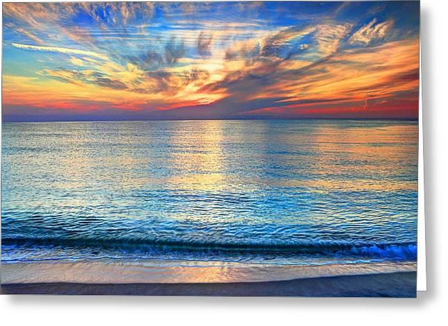Atlantic Sunrise  Greeting Card