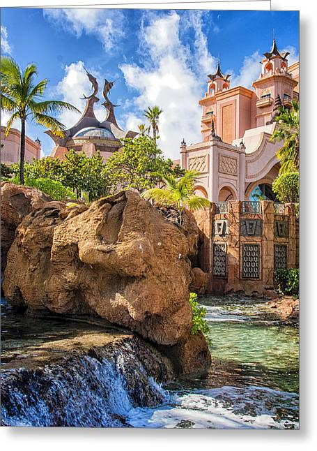 Atlantis Paradise Island - Nassau Greeting Card