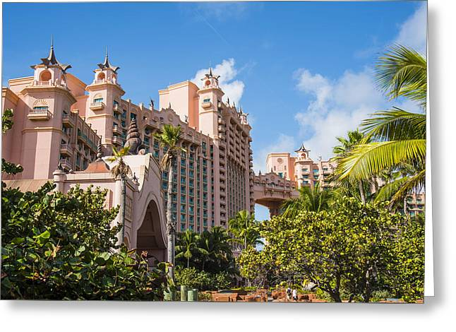 Atlantis Resort - Nassau - Bahamas Greeting Card