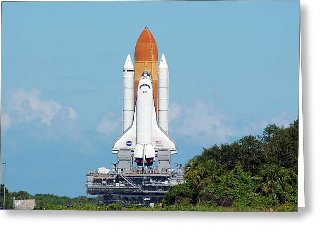 Atlantis Rollout Greeting Card by Mark Weaver