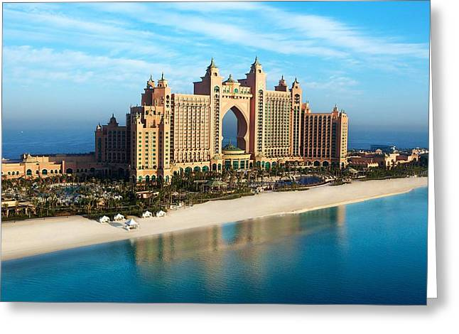 Atlantis The Palm Dubai Greeting Card