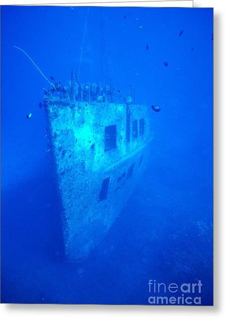 Atlantis Wreck Greeting Card by Bob Abraham - Printscapes