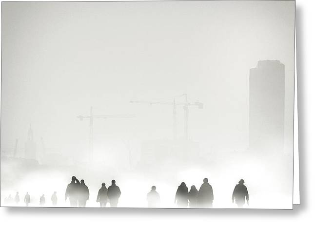 Atmosphere Greeting Card by Piet Flour