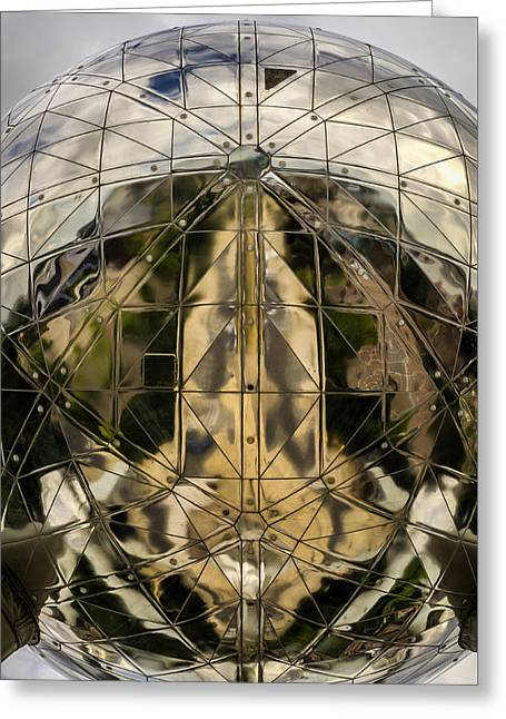 Atomium 5 Greeting Card by Pablo Lopez