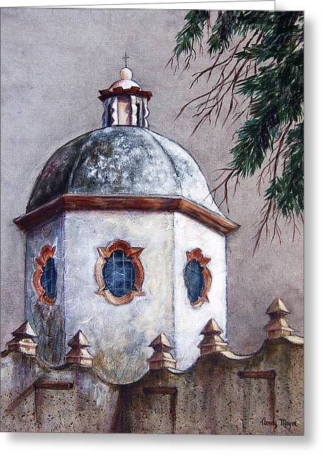 Atotonilco Greeting Card by Candy Mayer