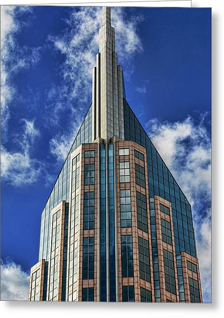 Greeting Card featuring the photograph Att Nashville by Stephen Stookey
