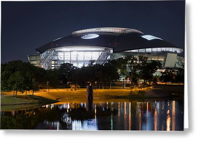 Dallas Cowboys Stadium 1016 Greeting Card