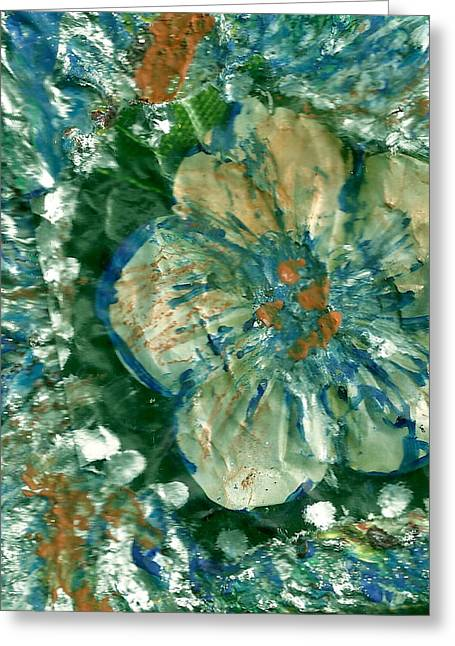 Attention Impasto Lovers Greeting Card by Anne-Elizabeth Whiteway