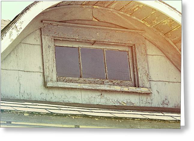 Attic View Greeting Card by JAMART Photography