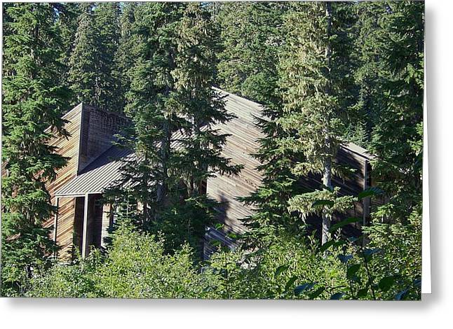 Greeting Card featuring the photograph Aubrey Watzek Lodge by Angi Parks