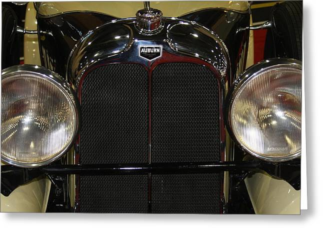 Greeting Card featuring the photograph Auburn 8-88 Boat Tail Speedster by Vadim Levin