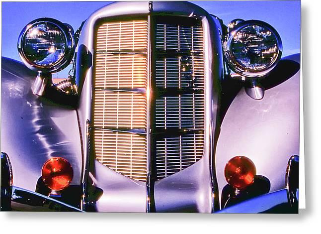 Auburn 852 Boattail Speedster Greeting Card