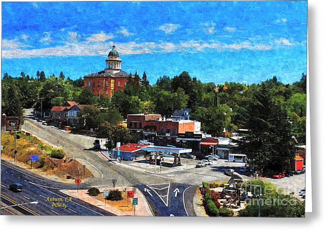 Auburn Ca Greeting Card