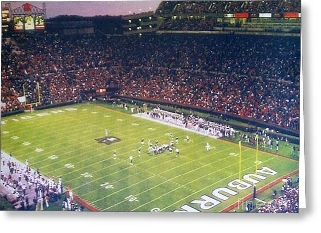 Auburn Football Greeting Card