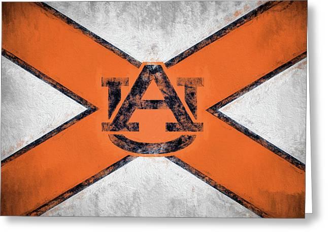 Auburn State Flag Greeting Card