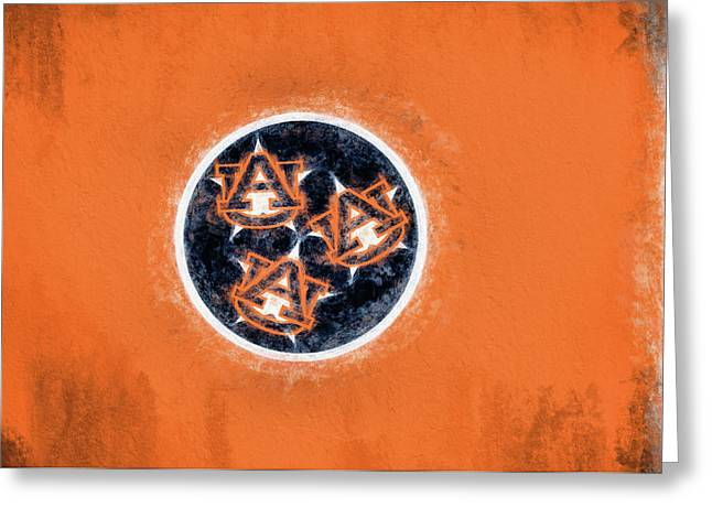 Auburn Tennessee Flag Greeting Card