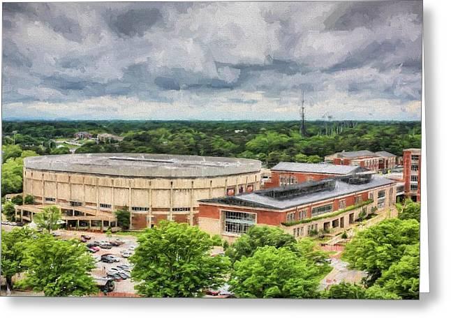 Auburn University Memorial Coliseum  Greeting Card
