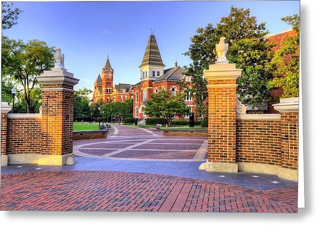 Auburn University Mornings Greeting Card by JC Findley