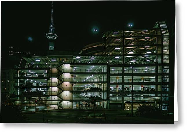 Auckland Nights Greeting Card