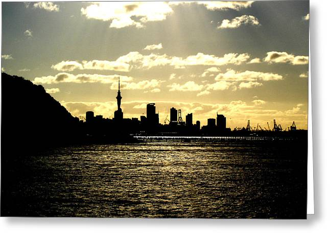 Auckland2 Greeting Card