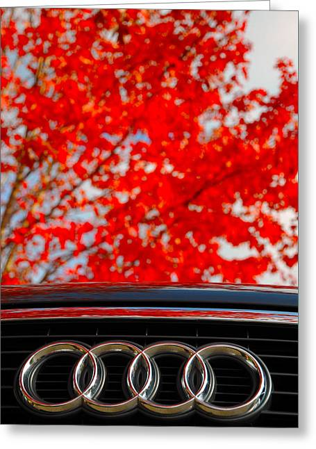 Audi Greeting Card