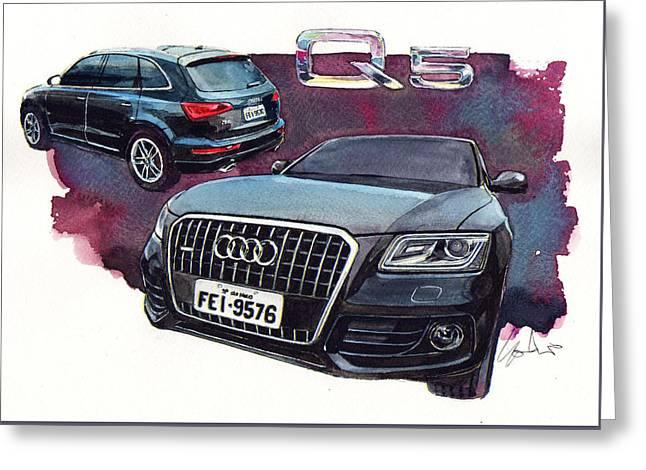 Audi Q5 Greeting Card