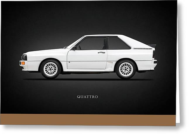 Audi Quattro 1985 Greeting Card