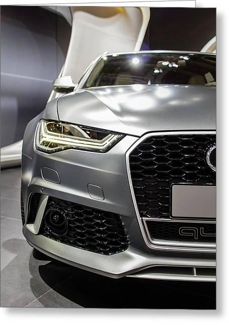 Audi Rs 6 Greeting Card