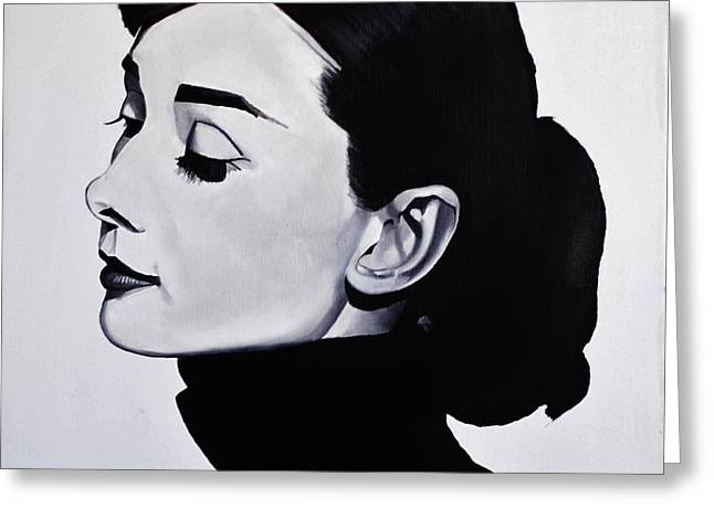 Audrey Hepburn 1 Greeting Card