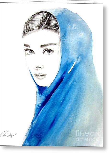 Audrey Hepburn 3 Greeting Card