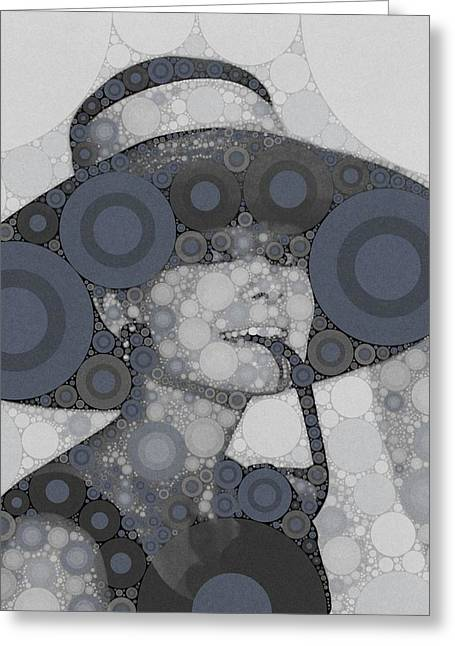 Audrey Hepburn Greeting Card by Esoterica Art Agency